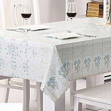 Wasserdicht,spitzen tischdecke/Öl-beweis,einweg-tischdecken/tee tischdecke/kunststoff,stoffe,pvc tischdecke/weichglas matte für tabelle-F 132x132cm(52x52inch)