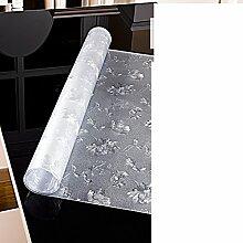 Wasserdicht tischdecke transparent frosted couchtisch tisch tuch tischtuch weichglas pvc vermeiden sie ein bügeleisen -brett mat-E 70x130cm(28x51inch)