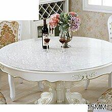 Wasserdicht tischdecke/transparente tabelle mat/plastiktisch mat-B 100cm(39inch)