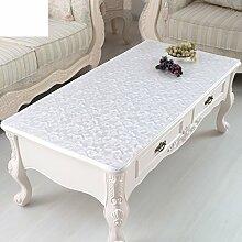 Wasserdicht,vermeiden sie die tischdecke bügeln/pvc,weichglas,transparente tischdecke/plastiktisch mat/tischtuch crystal plate table mat-D 90x90cm(35x35inch)
