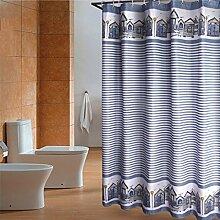 Wasserdichte Badezimmer Badezimmer Vorhänge Bad