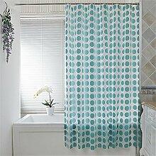 Wasserdichte Badezimmer Duschvorhang Mehltau dicken Vorhang Vorhang Vorhang Trenn Vorhang (13 Größen) ( größe : 280*180cm )