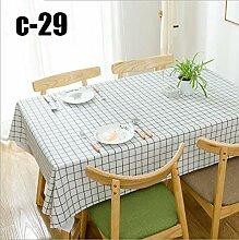 Wasserdichte PVC-Tischdecke Europäische Oldichte
