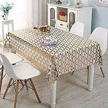 Wasserdichte PVC-Tischdecke Für Den Außenbereich