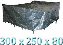 Wasserdichte Schutzhülle grau 300x250x80cm für