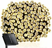 wasserdichte solar LED-Lichterkette ohne Strom