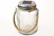 Wasserdichte Solarlampe Mason Jar Solarglas