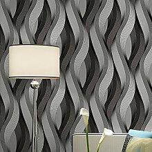 Wasserdichte Tapete 3D für Wohnzimmer Moderne