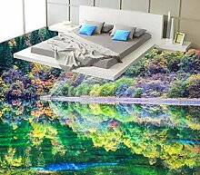 Wasserdichte Tapete des Fußbodens 3d für