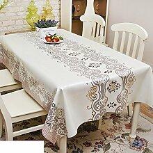 wasserdichte Tapete/PVCTischdecken/ Einweg-Mat/ Tischtuch/Tischsets/Garten-Tischdecke/Bildende Kunst-Q 137x220cm(54x87inch)