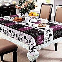 wasserdichte Tapete/PVCWeiche transparente Tischdecke/ Kunststoff Tischdecken/ Einweg-Couchtisch Kissen/Tischdecke decke/ hitzebeständige Tischdecke-I 152x152cm(60x60inch)