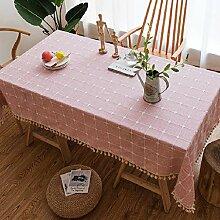 Wasserdichte Tischdecke ZYL Tischdecke Einfache