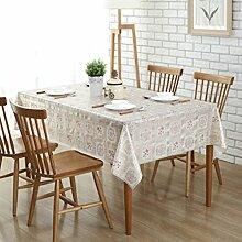 Wasserdichte Tischdecken/[Wasserdichte Plastiktischdecken]/Landschaftpvc Öl-Tischdecke/Einweg-transparente Tischdecke und wasserdichte Kunststoff Tischdecke/ Öl-Tischdecke-F 137x180cm(54x71inch)