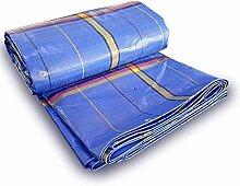 Wasserdichte wasserdichte Polyäthylen beschichtete Tarps Auto-LKW-Markisen im Freien Segeltuch-Sonnenschutzregenplane imprägniern Sonnenschutz 250g/m², Stärke 0.35mm, (Größe: 4 * 5m)