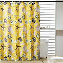 Wasserdichtes dickes Badezimmer Polyester Duschvorhang Badezimmer Trennvorhang ( größe : 80*180cm )