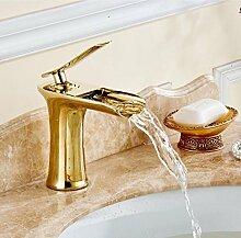 Wasserfall Bad Armatur Bad Waschtischmischer mit