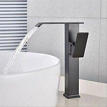Wasserfall Bad Wasserhahn Einhand-Waschbecken