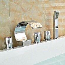 Wasserfall Badewannenarmatur Römische