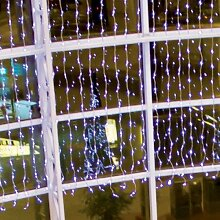 Wasserfall-Effekt 400 LED Lichtvorhang 1,8x2 m