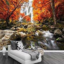 Wasserfall Naturlandschaft Große Wandmalerei