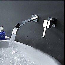 Wasserfall verbreitet zeitgenössische Waschbecken