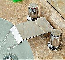 Wasserfall Waschbecken Breite Küchenarmatur