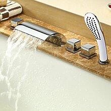 Wasserfall Wasserhahn 5 Einheiten, Badewanne
