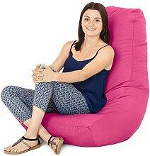Wasserfest Außenbereich Gaming Sitzsack Lounger Sessel, in 7 farben erhältlich - Rosa