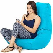 Wasserfest Außenbereich Gaming Sitzsack Lounger Sessel, in 7 farben erhältlich - Türkis