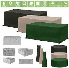Wasserfest Gartenmöbel und Zubehör umfasst, in 3 Farben und verschiedene Größen - Stein, 2 Seater Sofa