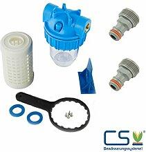 Wasserfilter 5 Zoll 3/4 Zoll 60 micron mit Geräteanschluss