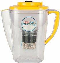 Wasserfilter AcalaQuell Sunny | Gelb | Kannenfilter mit extra gutem Griff | Höchste Filterleistung | Mehrschichtige Filterkartusche | PI-Technology | Kreiert köstlich schmeckendes, wohltuendes Wasser