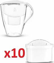 Wasserfilter Dafi Astra Unimax 3.0L inklusive 11 Filterkartuschen - Weiß