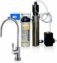 Wasserfilter System ForHome® EasyPure für die küche Mikrofiltrations Wasser Ultrafilter Anlage unter der Spüle Wasseraufbereiter mit UV-Lampe Wasserfilter Untertisch Everpure AC
