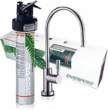 Wasserfilter System ForHome® EasyPure für die küche Mikrofiltrations Wasser Ultrafilter Anlage unter der Spüle Wasseraufbereiter Wasserfilter Untertisch Everpure H104