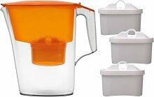 Wasserfilter Time von Aquaphor (Orange mit 3 Patronen)