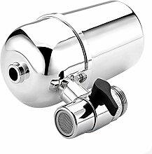Wasserfilter Water Purifier Hihoddy Gesundes Wasserhahn WasserFiltersystem Leitungswasser Luftreiniger Filter Wasserreinigungsgerät für Küche Wasserhahn Mount Filter mit Advanced Water Filtration