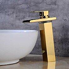 Wasserhähne Waschtischarmaturen Goldene