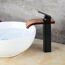 Wasserhähne Waschtischarmaturen Vergoldete Bad