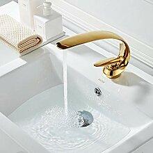 Wasserhähne Waschtischarmaturen Vergoldete