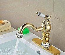 Wasserhahn,Keramik Stil Waschbecken Wasserhahn