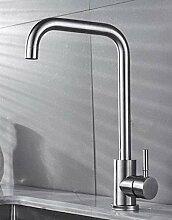 Wasserhahn 304 Edelstahl für Waschbecken