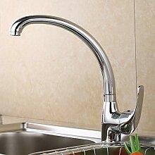 Wasserhahn 360 Grad drehbar Küchenmischer aus