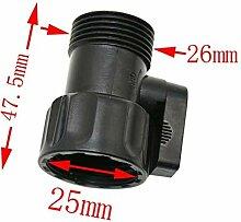 Wasserhahn Adapter 2 Ventil Hahn-Pipes Kompatibel