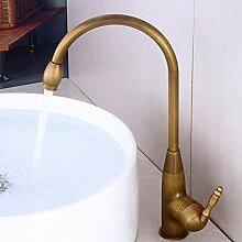 Wasserhahn alle Kupfer antiken Becken Wasserhahn