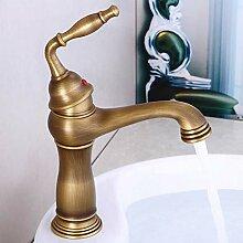 Wasserhahn alle Kupfer antiken Waschbecken