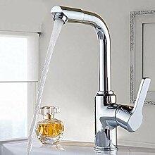 Wasserhahn,Alle Kupferkörper Waschbecken Warmes