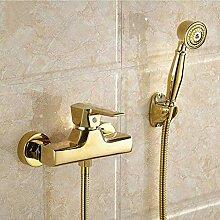 Wasserhahn Alle Messing Vergoldet Badewanne