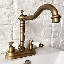 Wasserhahn Antik Messing Waschbecken mit