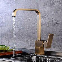 Wasserhahn Antike Küche Rotierender Wasserhahn